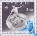 Postage Stamps - Monaco - First European Cup final