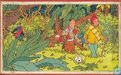 "Comic Books - Kuifjesbon producten - Kuifje's puzzle hout ""De Zonnetempel"""