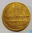 Munten - Frankrijk - Frankrijk 10 francs 1974