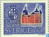 Postzegels - Zweden [SWE] - Kasteel Gripsholm