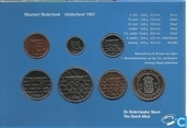 Coins - the Netherlands - Netherlands year set 1997