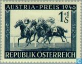 Timbres-poste - Autriche [AUT] - Les courses de chevaux