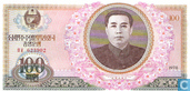 Banknotes - Korean Central Bank - North Korea 100 Won