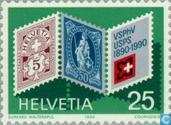 Postage Stamps - Switzerland [CHE] - Associations Federation philatelists 100 years