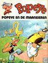 Comic Books - Popeye - Popeye en de maaneieren