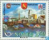 Postage Stamps - Norway - Norden Partner Cities