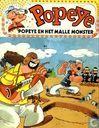 Strips - Olijf en Erwtje - Popeye en het malle monster