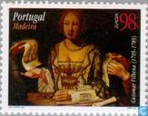 Postage Stamps - Madeira - Europe - Famous women