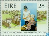 Postage Stamps - Ireland - Royal Hospital 250 years