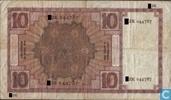 Bankbiljetten - Zeeuws meisje - 10 Gulden Nederland 1924
