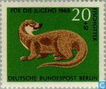 Timbres-poste - Berlin - Animaux sauvages
