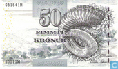 Faroe Islands 50 Krónur ND (2001)