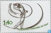 Postage Stamps - France [FRA] - Nat. Golfers Association