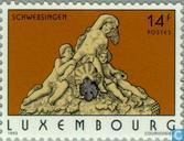 Postage Stamps - Luxembourg - Tourism