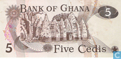 Billets de banque - Ghana - 1972-1978 Issue - Ghana 5 Cedis 1977