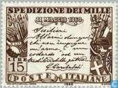 Timbres-poste - Italie [ITA] - Garibaldis atterrissage en Sicile