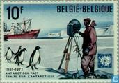 Postzegels - België [BEL] - Antarctisch Verdrag