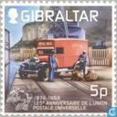 Timbres-poste - Gibraltar - UPU 1874-1999