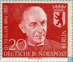 Postage Stamps - Berlin - Otto Suhr
