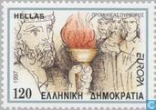 Postage Stamps - Greece - Europe – Tales and legends