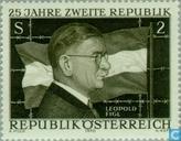 Postzegels - Oostenrijk [AUT] - Tweede Republiek 25 jaar
