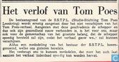 Strips - Bommel en Tom Poes - Het verlof van Tom Poes