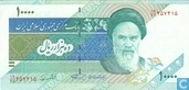Banknoten  - Central Bank of the Islamic Republic of Iran - Iran 10.000 Rial