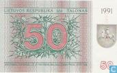 Litouwen 50 Talonas