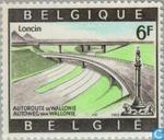 Postage Stamps - Belgium [BEL] - Highway Intersection