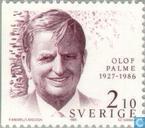 Postzegels - Zweden [SWE] - Olof Palme