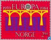 Timbres-poste - Norvège - Europe – Pont
