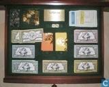 Spellen - Monopoly - Monopoly Editie voor Verzamelaars - Franklin Mint editie