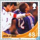 Postzegels - Man - WK Voetbal