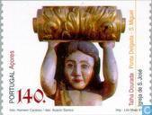 Timbres-poste - Açores - L'art religieux