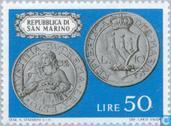 Timbres-poste - Saint-Marin - Pièces de monnaie