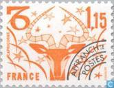 Briefmarken - Frankreich [FRA] - Tierkreiszeichen