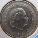 Coins - the Netherlands - Netherlands 25 cents 1966