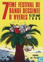 Affiches et posters - Bandes dessinées - 7ème festival de bande dessinée d'Hyeres