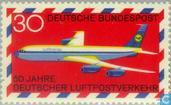 Postage Stamps - Germany, Federal Republic [DEU] - Airmail Traffic 1919-1969