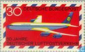 Timbres-poste - Allemagne, République fédérale [DEU] - Circulation Aérienne 1919-1969
