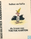Comic Books - Robbedoes (magazine) - De troon van Toetoe Karton