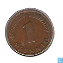 Coins - Germany - Germany 1 pfennig 1949 (F)