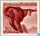 Briefmarken - Liechtenstein - Jagd