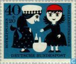 Postzegels - Duitsland, Bondsrepubliek [DEU] - Spookjes Grimm