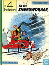 Comic Books - 4 Helden, De - De 4 helden en de sneeuwdraak