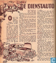 Comic Books - Bumble and Tom Puss - De dienstauto