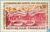 Postage Stamps - France [FRA] - Congress philatelists- 44th-Grenoble