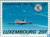 Postage Stamps - Luxembourg - Eurocontrol 25 years