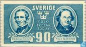 Postage Stamps - Sweden [SWE] - Centenary of Elementary School