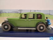 "Modelauto's  - Atlas - De limousine van Mitsuhirato uit ""De Blauwe Lotus"""